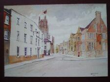 POSTCARD CAMBRIDGESHIRE ELY - THE LAMB HOTEL - LYNN ROAD