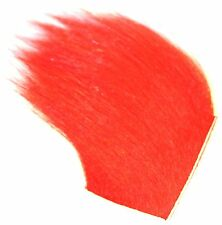ICE FLIES. Fly tying material. Icelandic horse hair. Red. Arctic runner