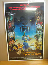 Vintage Simbad and the Eye of the tiger movie poster 1977 616