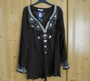 BNWT M&S Sheer Top Size 22