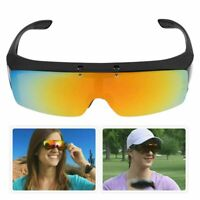 Bell Howell Flip Up Glasses Driving Polarized Lens Over Sunglasses Night Vision
