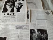 More details for faust 2000 interview article / photos / discography