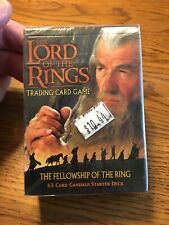 The Lord of the Rings Fellowship of the Ring Gandalf Starter Deck NEW Sealed