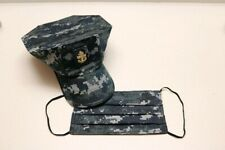 Handmade face mask US Navy Military Camouflage digital -Fabric- reversible