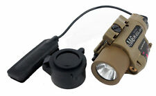 Tactical M6 Xstyle Red Laser & Illuminator Flashlight with Cree LED Bulb In Tan