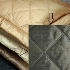 $438! New Ann Gish Neiman Marcus Big Diamond Steel 100% Silk King Pillow Sham