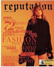 Taylor Swift Reputation Magazine Volume 1 Including CD & poster