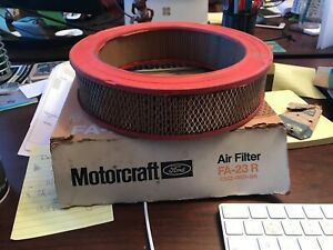 NOS 1965 1966 1967 1968 Ford Mustang COUGAR Air Cleaner Element Filter FA-23R