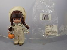 2007 NOVEMBER Precious Moments MONTHLY MOMENT Vinyl Doll Pumpkin Patch