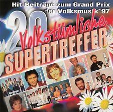 20 VOLKSTÜMLICHE SUPERTREFFER / CD - TOP-ZUSTAND