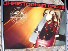 CHRISTOPHER CROSS Every Turn  1985 promo poster 33 x 23  original