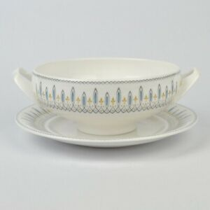 Spode Brussels Soup Cup & Saucer