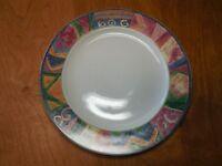 "Furio MESA Sakura MALAGA Dinner Plate 11"" Mulicolor Geometric   42 available"