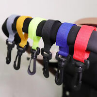 Baby Stroller Accessories Hook Multifunction Black High Quality Pram Bag HookEF