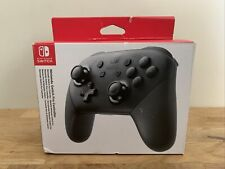 Genuine Official Nintendo Switch Pro Wireless Controller - Black - Boxed