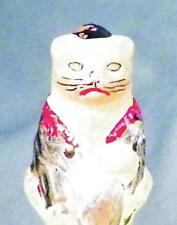 Antique Christmas Tree Light Cat Baseball Hat Fiddle Electric Figural C6 #3