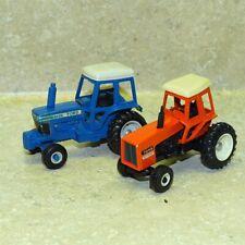 Vintage Mini Tractors (2), Ford 9700 And Allis 7045, Farm Toys