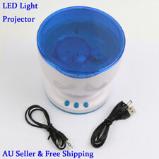 LED Light Projector Calming Autism Sensory Toy Music Relax Blue Night Projection