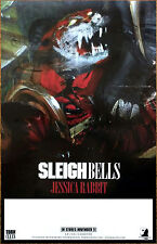 SLEIGH BELLS Jessica Rabbit 2016 Ltd Ed RARE Poster +FREE Punk Indie Rock Poster