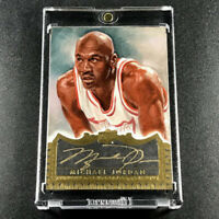 MICHAEL JORDAN 2015 UPPER DECK #MJ MASTERFUL PAINTINGS AUTOGRAPH AUTO 2/2 2of2