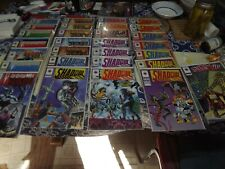 VINTAGE SHADOWMAN VALIANT COMICS #1-24 SOME MULTIPLES ALL NM 29 TOTAL IN BAGS