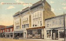 EISNER BUILDING Broad Street, Red Bank, NJ Dickopf Photographer 1913  Postcard