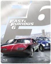 Fast Furious 6 Limited Edition Steelbook Blu-ray 2013 Region