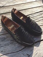 Authentique mocassins cuir noir JM WESTON 6,5 C