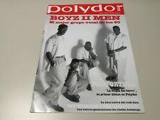 0220- POLYDOR REVISTA MUSICAL OCTUBRE 1994 Nº4 6 PAGINAS