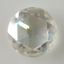 Round Rose Cut Loose Moissanite For Ring/Pendant 1.73 Ct 8.90 Mm Vs-1 Off White