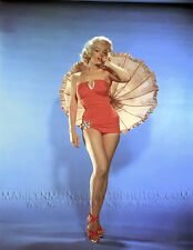MARILYN MONROE UMBRELLA and SWIMSUIT 1xRARE 4x6 PHOTO