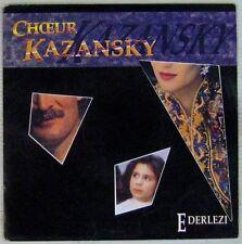 Le temps des gitans 45 tours Choeur Kazansky 1989