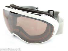 SCOTT Ski Snowboard Fix Lunettes Blanc brillant/Sphérique Argent Chrome 239990