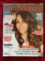 ITALIAN MAGAZINE CONFIDENZE N 15 4/19 SABRINA FERILLI DIANA LANE KENDALL JENNER