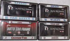 NCAA Cromo Placa Marco por Rico Industries-Seleccionar-equipo a continuación