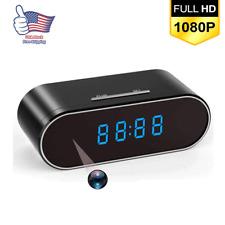 Spy Camera WiFi Hidden Wireless Night Vision Security Nanny Cam HD 1080P Alarm o