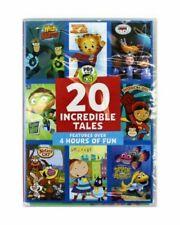 PBS Kids 20 Incredible Tales DVD Wild Kratts Daniel Tiger Nature Cat 4 Hours