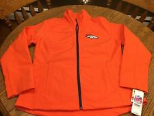 Denver Broncos NFL Women s G-III Full Zipper Orange Jacket Size Large - NWT 38ec14177
