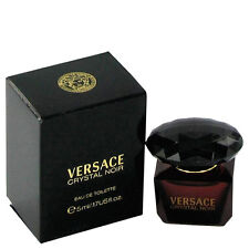 Versace Crystal Noir 0.17oz./5ml Edt Splash For Women New In Box