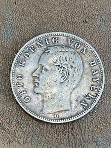 5 Mark • 1903 • Deutsches Reich • Silber • Otto König Von Bayern • D