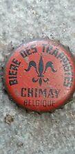 Trappist Chimay oude Kroonkurk capsule kronkorken chapa tappo beer cap bottle