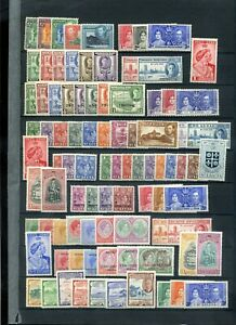 Commonwealth KGVI period MH collection 6