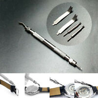 Stainless Steel Spring Bar Link Pin Watch Band Strap Remover Repair Kit Tool Set