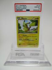 PSA 10 GEM MINT Pikachu Black White Base Secret Rare Pokemon Card 115/114    B34