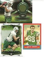 2014 Topps Jace Amaro (Jets) Jersey Swatch, Rookie, and Mini Rookie Cards