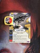 X-8 Night Sniper #55 Legendary Star Wars Destiny Empire at War EaW