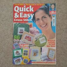 Quick and Easy Cross Stitch Issue 76, July 2001