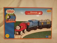 Thomas wooden Rheneas & Rock Crusher Cars New NIB Learning Curve