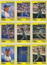 Robin Yount 1991 Star Company Milwaukee Brewers 9-card Millennium BB Set  #/1000
