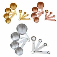 Measuring Cup Spoon Set Stainless Steel Liquid Ingredients Kitchen Utensils Food